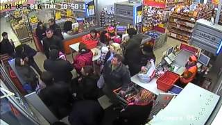 Происшествие с выборгским гостем в супермаркете