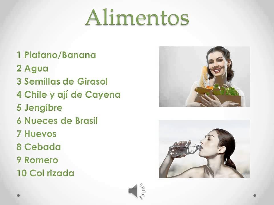 Alimentos para mejorar la celulitis