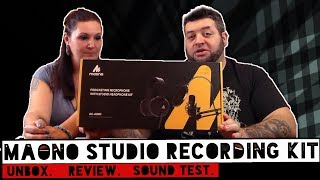 MAONO AU-A04 Studio Recording Kit Unboxing and Review