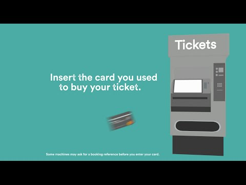 How to collect pre-booked tickets from station machines