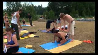 Парная йога. 3-е занятие, ч.1 (