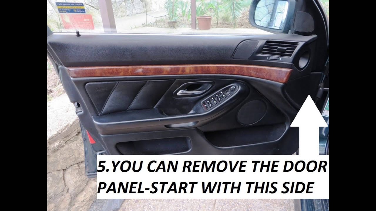 Bmw 5 E39 How To Remove The Door Panel Door Panel Removal Youtube