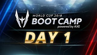 RoV : World Cup 2018 (Group Stage) Day 1