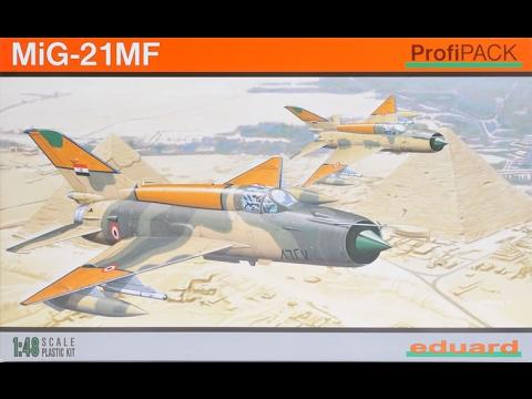 Eduard 1/48 Mig-21 MF - Part 3 (Construction)