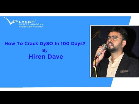 How To Crack DySO In 100 Days?