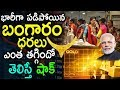 Gold Rates Fall Down Today | Today Gold Rates In India | Tobefrank