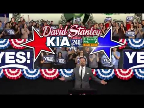 David Stanley Kia Presidents Commercial