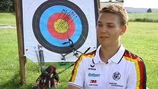 Bogenschießen - ein Knallharter Wettkampfsport (Regio TV Schwaben)