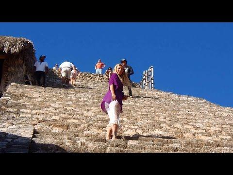 Ek Balam Pyramids (near Chichen Itza) on the Yucatan, Mexico