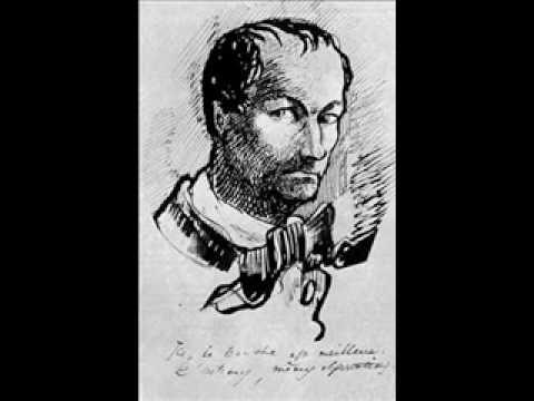 Charles Baudelaire  Moesta et errabunda