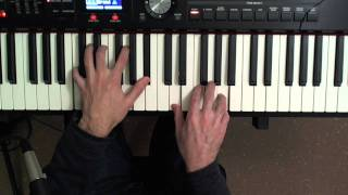 Chord Voicing: Making Chords Simpler (Piano Lesson Video) thumbnail