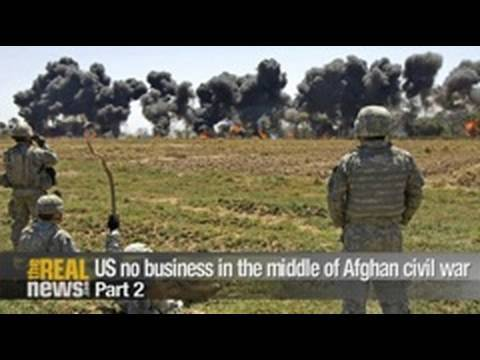 Afghan war not about self-defence