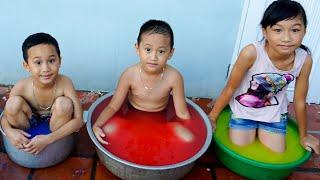 Trò Chơi Châu Nước Màu Sắc Thần Kì - Bé Nhím TV - Đồ Chơi Trẻ Em Thiếu Nhi