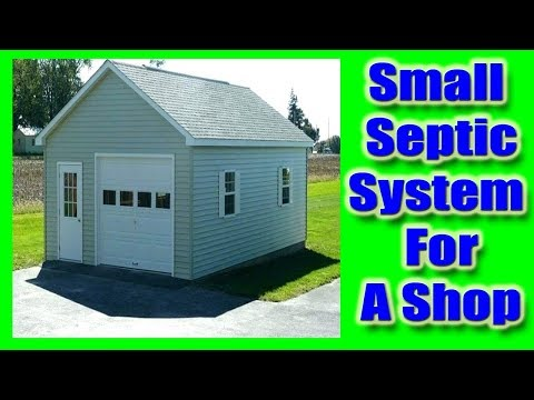 Septic System For A Shop