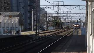 [EF210試験車‼️]EF210–901号機+コキ100形 刈谷駅 通過‼️