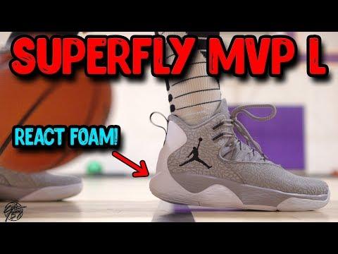a9e48d46285 Jordan Super.Fly MVP L Performance Review! - YouTube