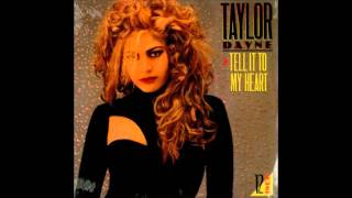Taylor Dayne - Tell It to My Heart (Club Mix) **HQ Audio**