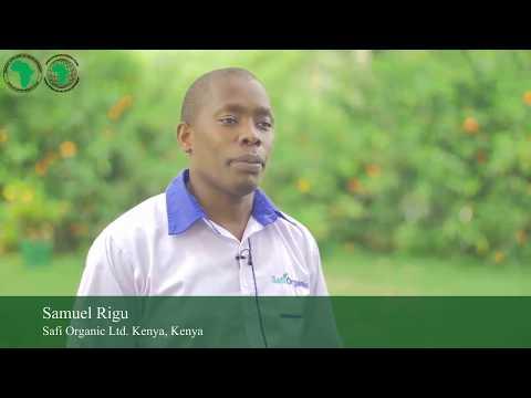 Samuel Rigu , Safi Organic Ltd  Kenya
