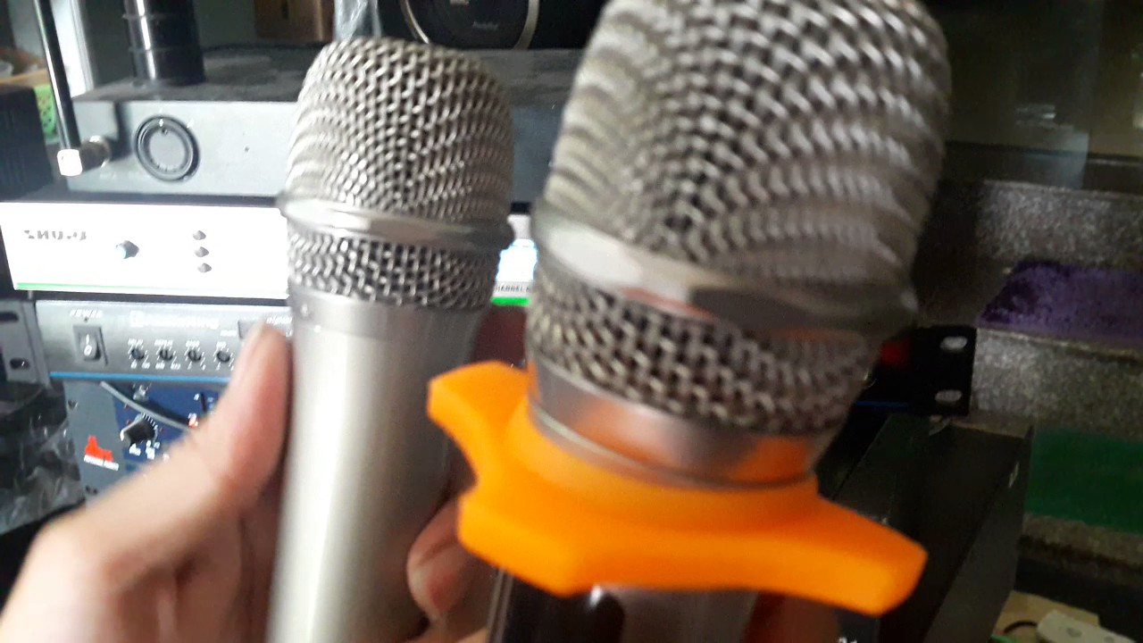 Hướng dẫn cách đặt  lại tấn số míc hát không dây UGX 8ll, 9II, 12…