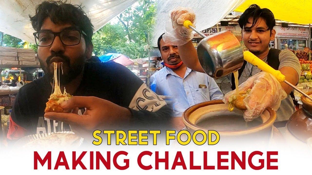Street Food Making Challenge - Part 2 | Funk You |  Pramod Rawat | Nirbhay Singh