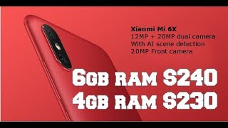 Big Discount Sales for Xiaomi Mi 6x Cheapest smartphone with Snapdragon 660! Worth buying?