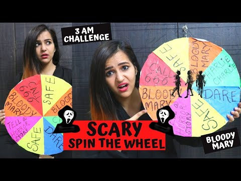 Scary SPIN THE WHEEL Challenge (Don't TRY THIS)