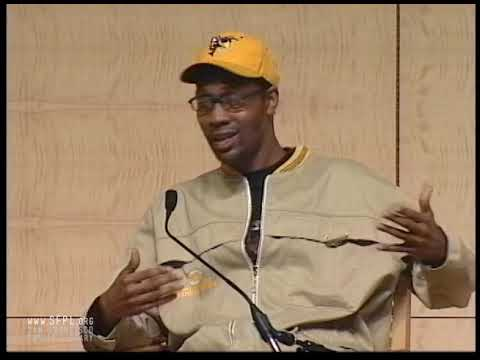 2005 RZA Of Wu-Tang Clan At The San Francisco Public Library