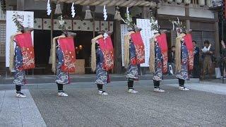 伝統の八つ鹿踊り披露 宇和島・愛媛新聞