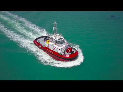TUGBOAT SEA TRIALS