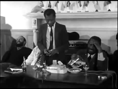 James Baldwin and Dick Gregory   Baldwin's Nigger