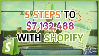 Shopify Masterclass | The 5 Steps Blueprint To $7.1 MILLION With Shopify