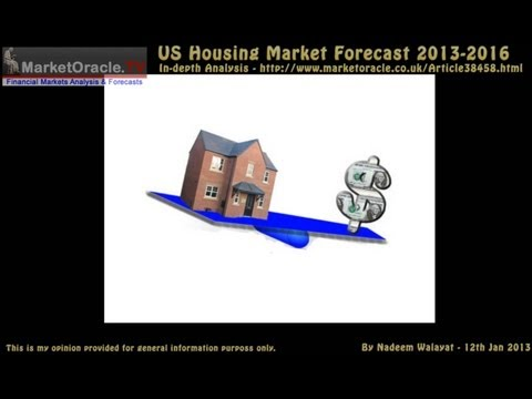 US Housing Market House Prices Forecast 2013-2016