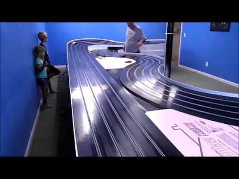 A professional slot car track build part 3