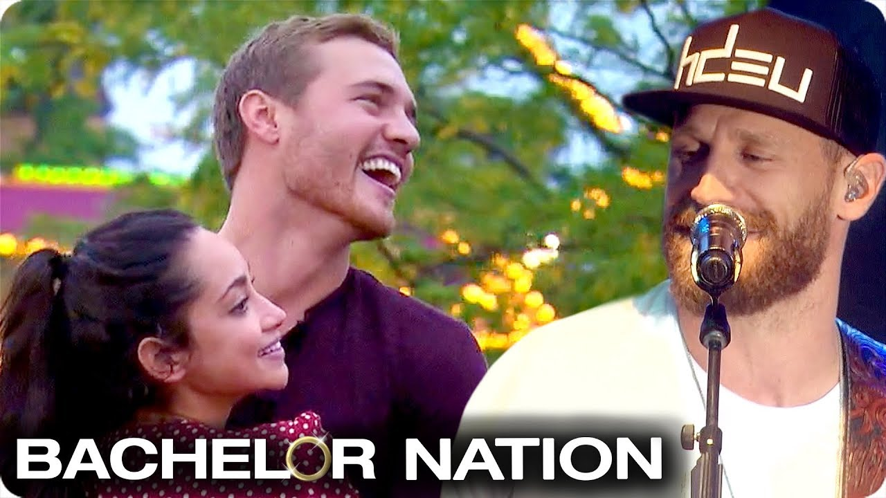 That Awkward Moment With Chase Rice on The Bachelor