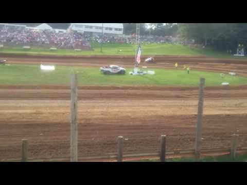 USAC Sprint Car Qualifying Part 2/2  Lincoln Park Speedway