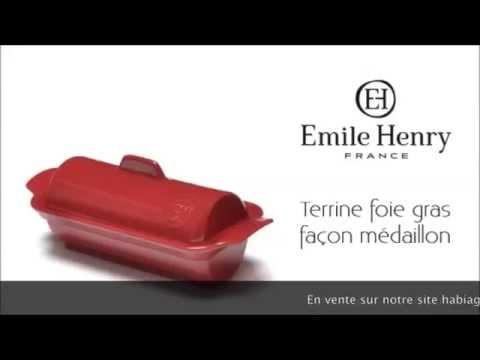 Foie Gras Terrine Rot Emile Henry