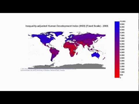 Inequality-adjusted Human Development Index (IHDI) (Fixed Scale)