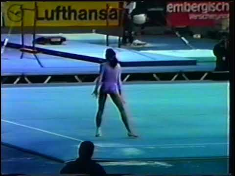 1989 World Gymnastics Championships - Women's Podium Training