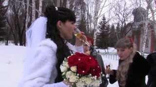 Свадебная прогулка в январе