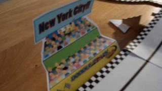Doodle Track Car - With Cardboard Bridge