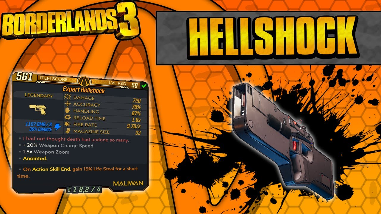 Borderlands 3 | Hellshock Legendary Weapon Guide (Ricochet Element Swapping!) thumbnail