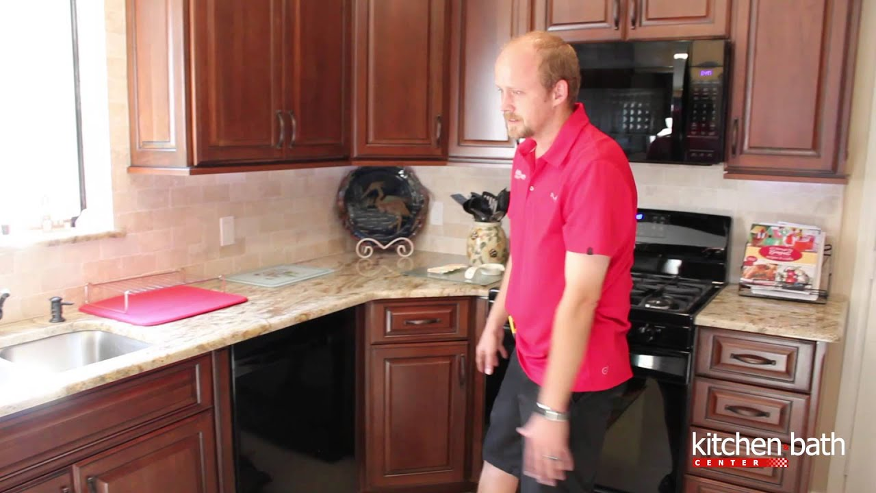 Kitchen Cabinets With Unique Pet Friendly Feeder - YouTube