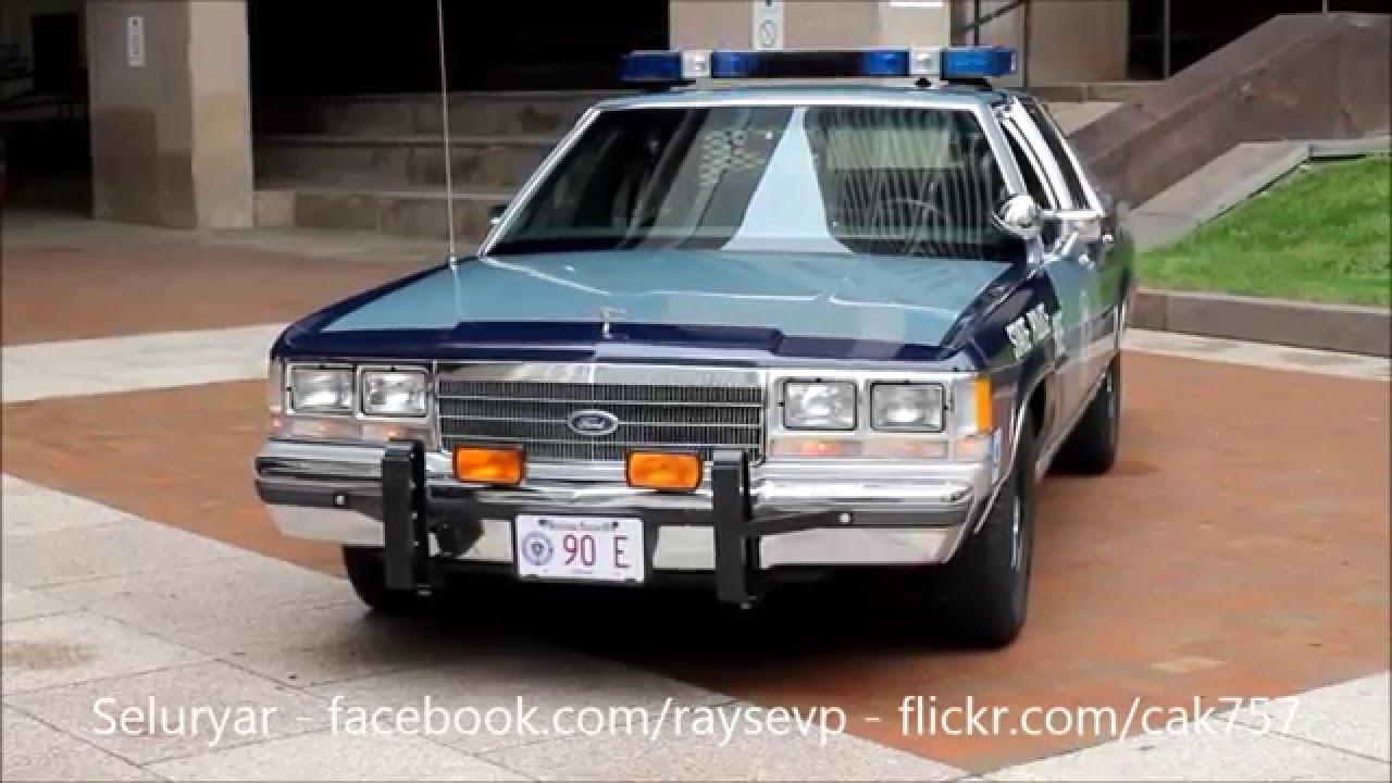Massachusetts Highway Patrol Ford Ltd Crown Victoria Whelen Edge