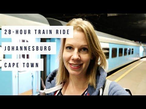 AMAZING LUXURY TRAIN JOHANNESBURG to CAPE TOWN | Premier Classe Tour