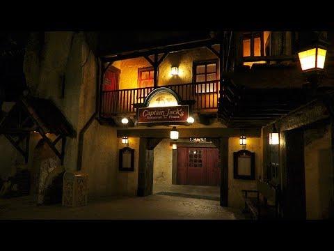 Dinner at Captain Jack's - Restaurant des Pirates