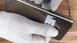How to fix a Samsung Galaxy s7 back/rear cracked glass screen
