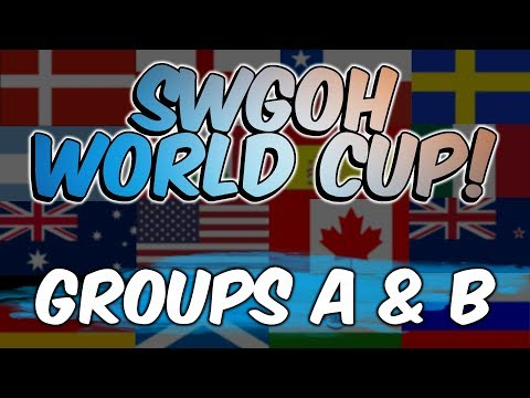 SWGOH WORLD CUP! | Groups A & B | Star Wars: Galaxy of Heroes