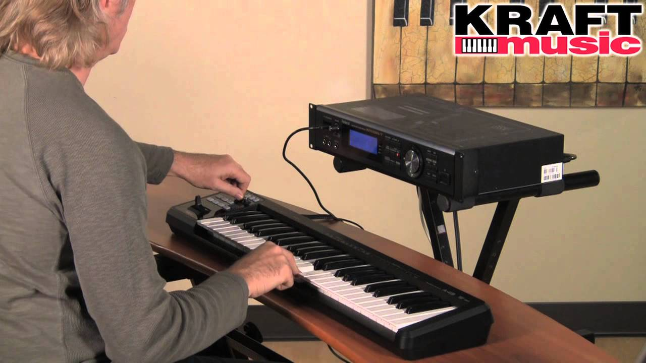 Kraft Music - Roland INTEGRA-7 SuperNATURAL Sound Module Demo with Scott  Tibbs