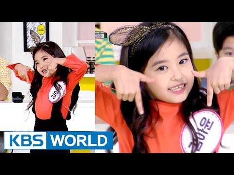 'Little Tzuyu' Ayun dances to 'TWICE - TT' [Happy Together / 2017.07.27]