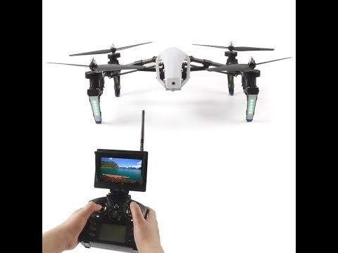 emboxing e voo drone Q333A thumbnail